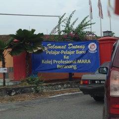Photo taken at Kolej Profesional Mara Beranang by Syaheera A. on 7/1/2014
