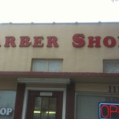 Photo taken at Chet Farley's Barber Shop by Tim L. on 11/14/2012