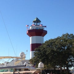 Photo taken at Harbour Town Lighthouse by Kevin C. on 11/22/2012