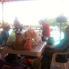 Photo taken at Balneario la Cruz by Dalia G. on 7/26/2014