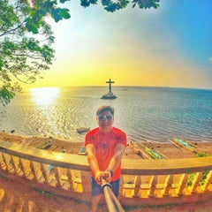 Photo taken at Sunken Cemetery Cross by dookiexave on 10/25/2015