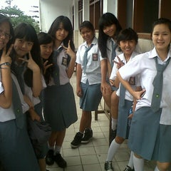 Photo taken at Sekolah Santo Paulus Jakarta by Angelica K. on 6/3/2013