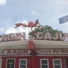 Photo taken at Ragin Cajun by Zachary S. on 5/24/2013