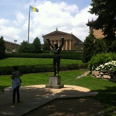 Photo taken at Rocky Statue by Michael S. on 6/22/2013