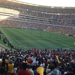 Photo taken at FNB Stadium by TC Mustafa D. on 7/27/2013