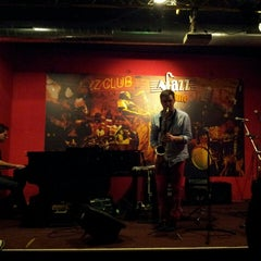 Photo taken at Jazz Time by Michael F. on 10/8/2013