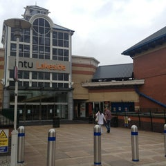 Photo taken at intu Lakeside Shopping Centre by Steve I. on 8/2/2013