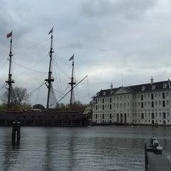 Photo taken at Het Scheepvaartmuseum by Benjamin on 11/11/2015
