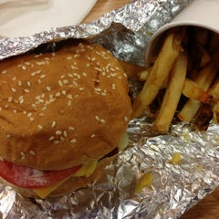Photo taken at Five Guys by James B. on 5/11/2013