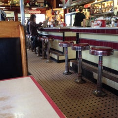 Photo taken at Four Aces Diner by Jessamyn W. on 3/9/2015