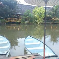 Photo taken at Saung Talaga by Agung P. on 7/16/2013