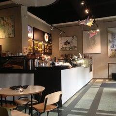 Photo taken at Index Cafe by John N. on 7/5/2013