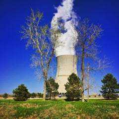 Photo taken at Davis-Besse Nuclear Power Station by Chris V. on 5/18/2015