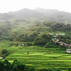 Photo taken at Banaue Rice Terraces Viewpoint by Princess A. on 7/17/2015