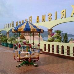 Photo taken at Krisna Beach Hotel by Herni S. on 5/8/2013