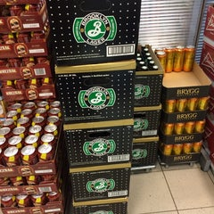 Photo taken at Systembolaget by Tiffany S. on 2/3/2014