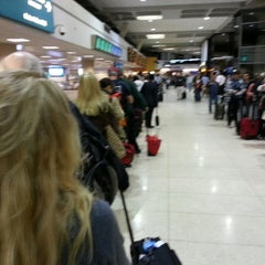 Photo taken at TSA Security by Nick A. on 3/8/2013