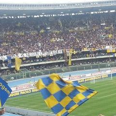 Photo taken at Stadio Marc'Antonio Bentegodi by Andrea P. on 5/18/2013