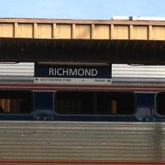Photo taken at Richmond Amtrak Station (RVR) by Ed L. on 12/25/2012