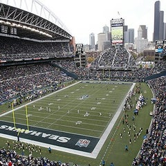 Photo taken at CenturyLink Field by Rasyad A. on 7/16/2013