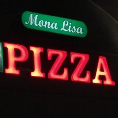 Photo taken at Mona Lisa Pizza by AJ D. on 1/5/2014