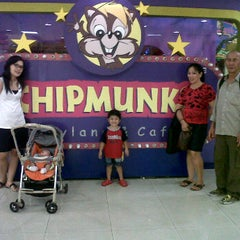 Photo taken at Chipmunks Playland & Cafe by Elfira Rosaline S. on 12/8/2011