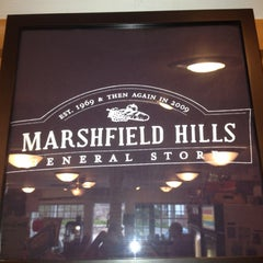 Photo taken at Marshfield Hills General Store by Chuck S. on 4/11/2012