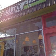 Photo taken at City Cafe Bakery by Steve K. on 3/25/2012