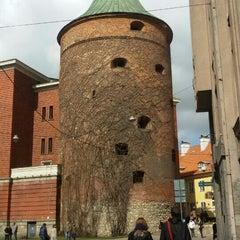 Photo taken at Pulvertornis | Powder Tower | Пороховая башня by Artis Č. on 5/2/2015