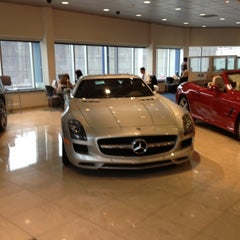 Photo taken at Mercedes-Benz of Boston by Jeremy N. on 10/31/2012