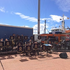 Photo taken at PW1 - Princes Wharf Shed No. 1 by Sisi on 9/13/2014