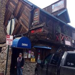 Photo taken at Rojo's Bar Tahoe by Karen A. on 4/12/2014