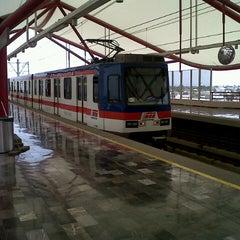 Photo taken at Metrorrey Estación Anáhuac by Daniel S. on 5/26/2013