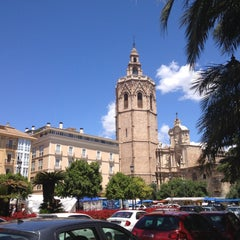 Photo taken at Plaça de la Reina by Nevs on 5/16/2013
