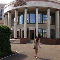 Photo taken at Шуваловский корпус МГУ by Yana M. on 8/8/2013