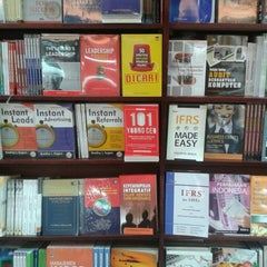 Photo taken at Gramedia by Dhyanya S. on 11/18/2013