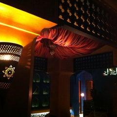 Photo taken at Shisha Bar @ Villa Moroc by Natpavee M. on 5/4/2013