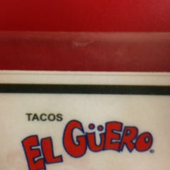 Photo taken at Tacos El Güero by Alex R. on 7/13/2013