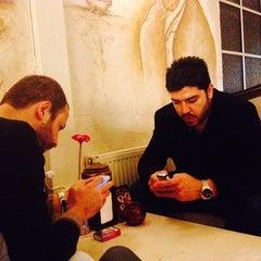 Photo taken at Saklı Bahçe Cafe&Nargile by Ahmet K. on 10/20/2013