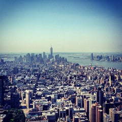 Photo taken at Empire State Building by Ed D. on 6/22/2013