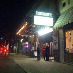Photo taken at Regent Theater by DayTripper D. on 10/26/2012
