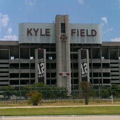 Photo taken at Kyle Field by Logan C. on 7/14/2013