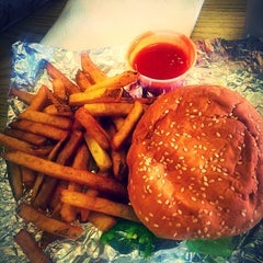 Photo taken at Five Guys by Sylvia R. on 3/19/2015