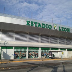 Photo taken at Estadio León by Primera P. on 6/24/2013