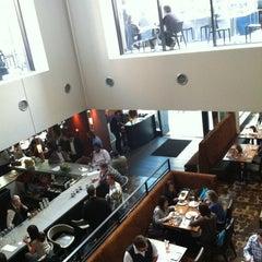 Photo taken at Bluestem Brasserie by natalie l. on 5/31/2013