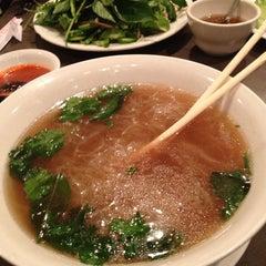 Photo taken at Vietopia Vietnamese Cuisine by Amanda F. on 5/28/2013