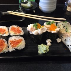 Photo taken at SushiStop by Lynn C. on 3/28/2015