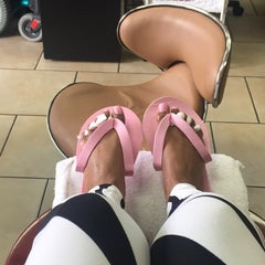 Photo taken at Luxe Nail Salon by Lynn C. on 5/23/2015