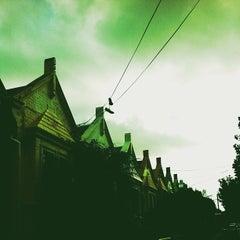 Photo taken at Sydney University Village by Marcus A. on 12/22/2012