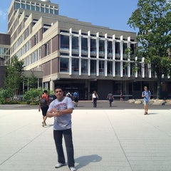 Photo taken at Harvard Science Center by Amado A. on 7/19/2013